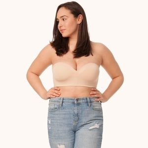 Lively No-Wire Strapless Bra in Toasted Almond